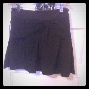 Athleta Sz 2 black skirt